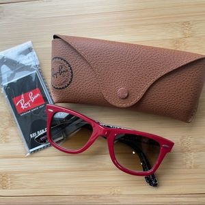 Ray-Ban Red Special Series #5 Wayfarer Sunglasses